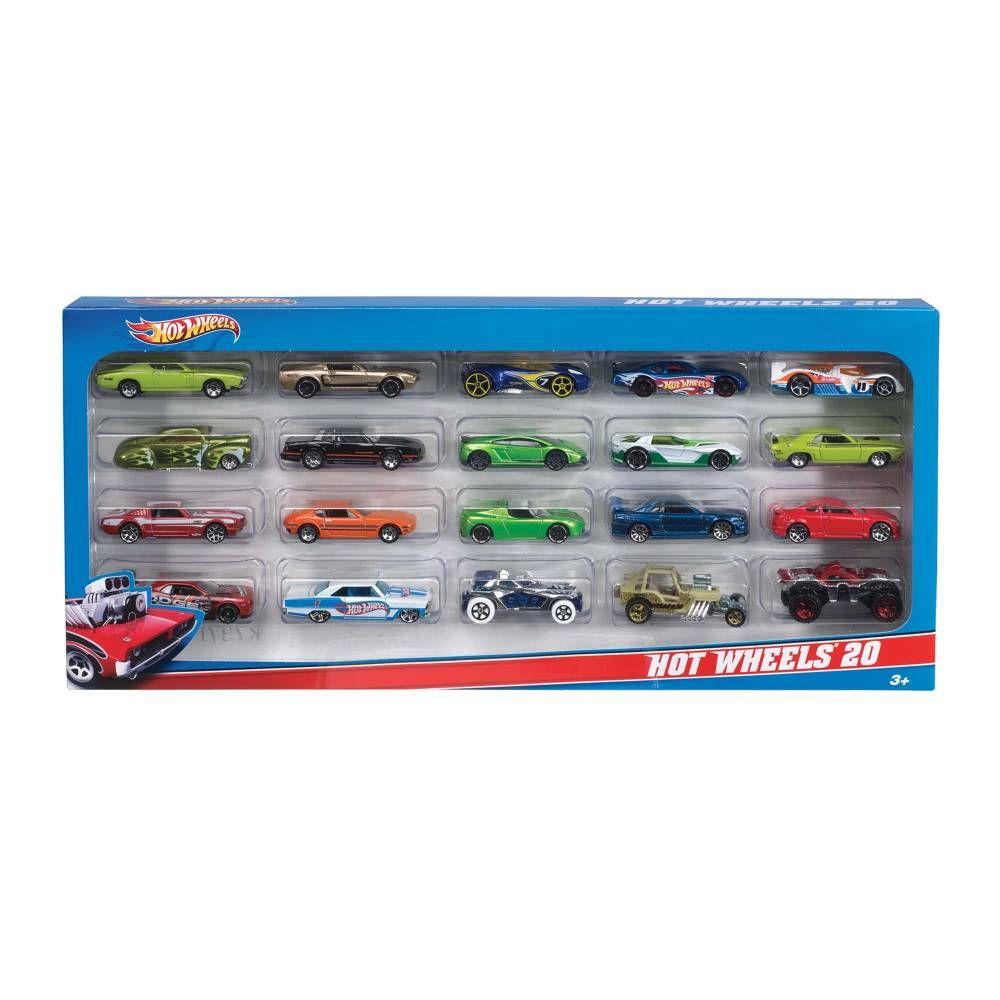 Sam's Club: Autos a Escala Hot Wheels 20 pza 980004823