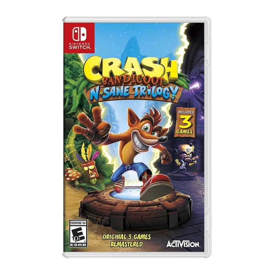 Walmart: Crash Bandicoot: N Sane Trilogy Nintendo Switch