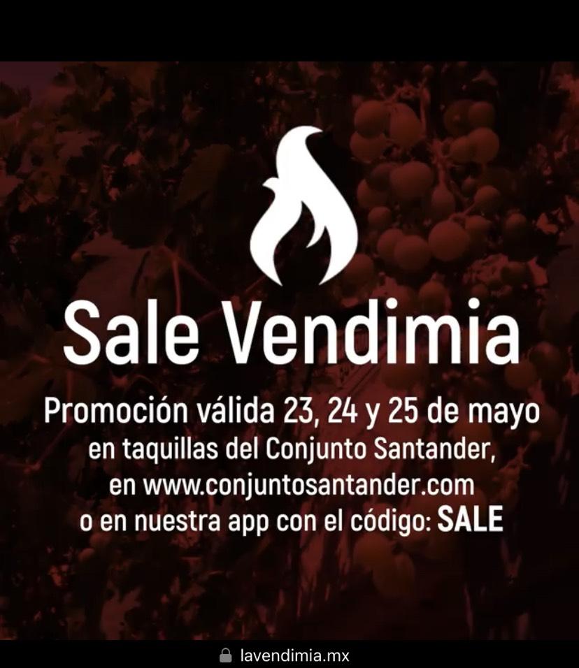 "Guadalajara: Boletos para evento ""La Vendimia"" al 2x1"