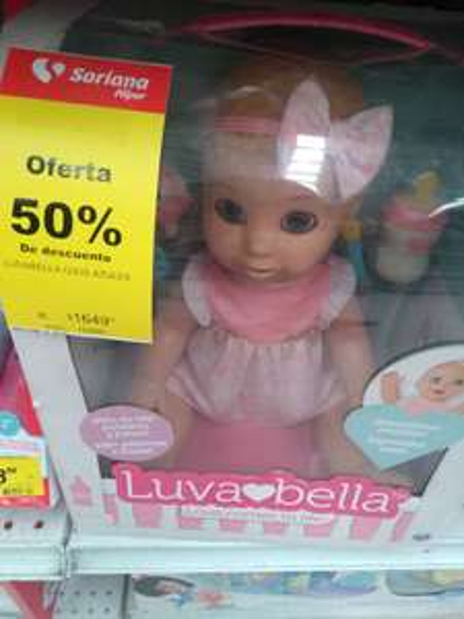 Soriana muñeca al -50% y otros juguetes