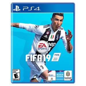 Chedraui: Videojuego FIFA 19 (Xbox One, Nintendo Switch y PS4)