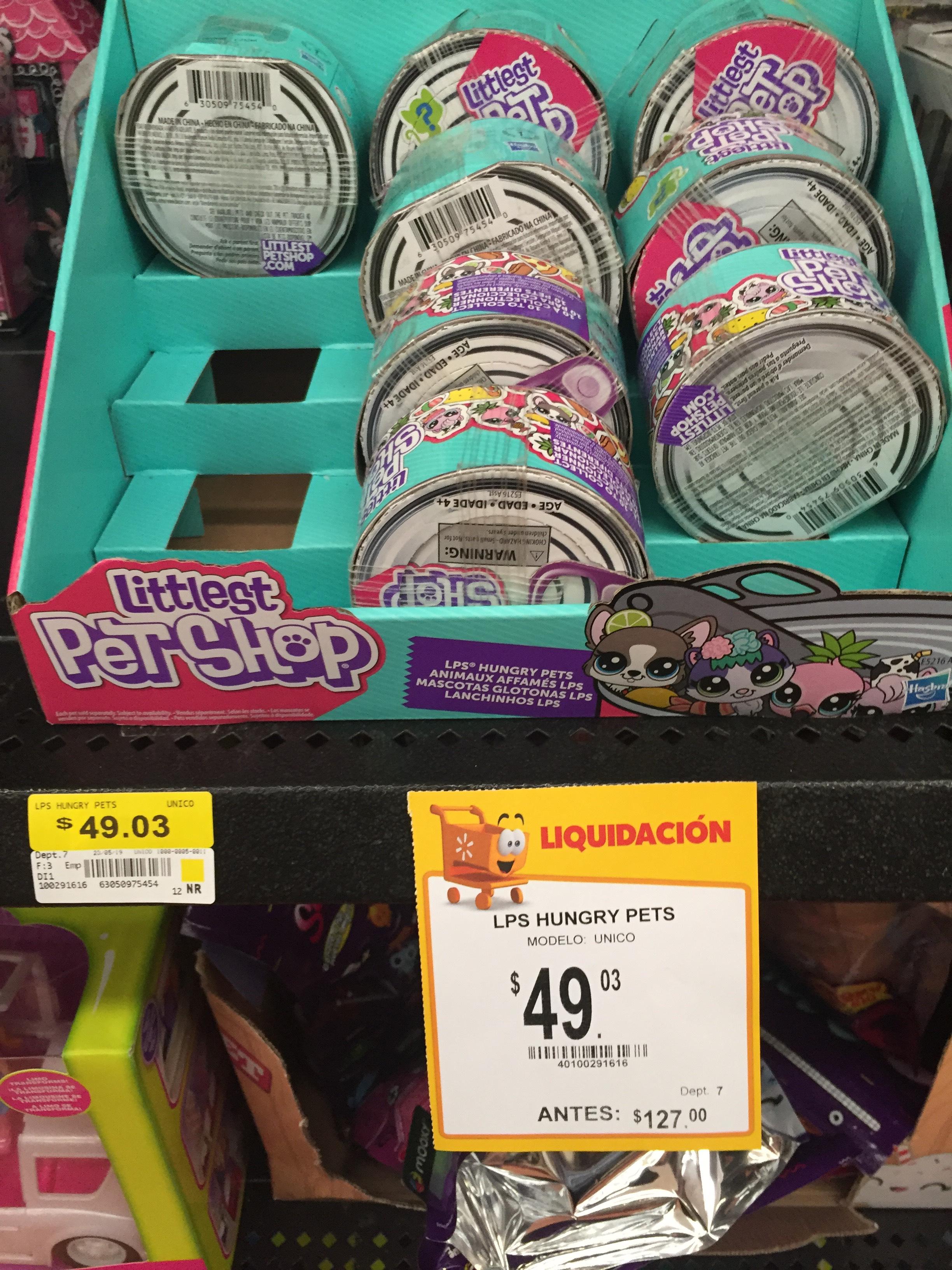 Walmart: Littlest pet SHOP en liquidación