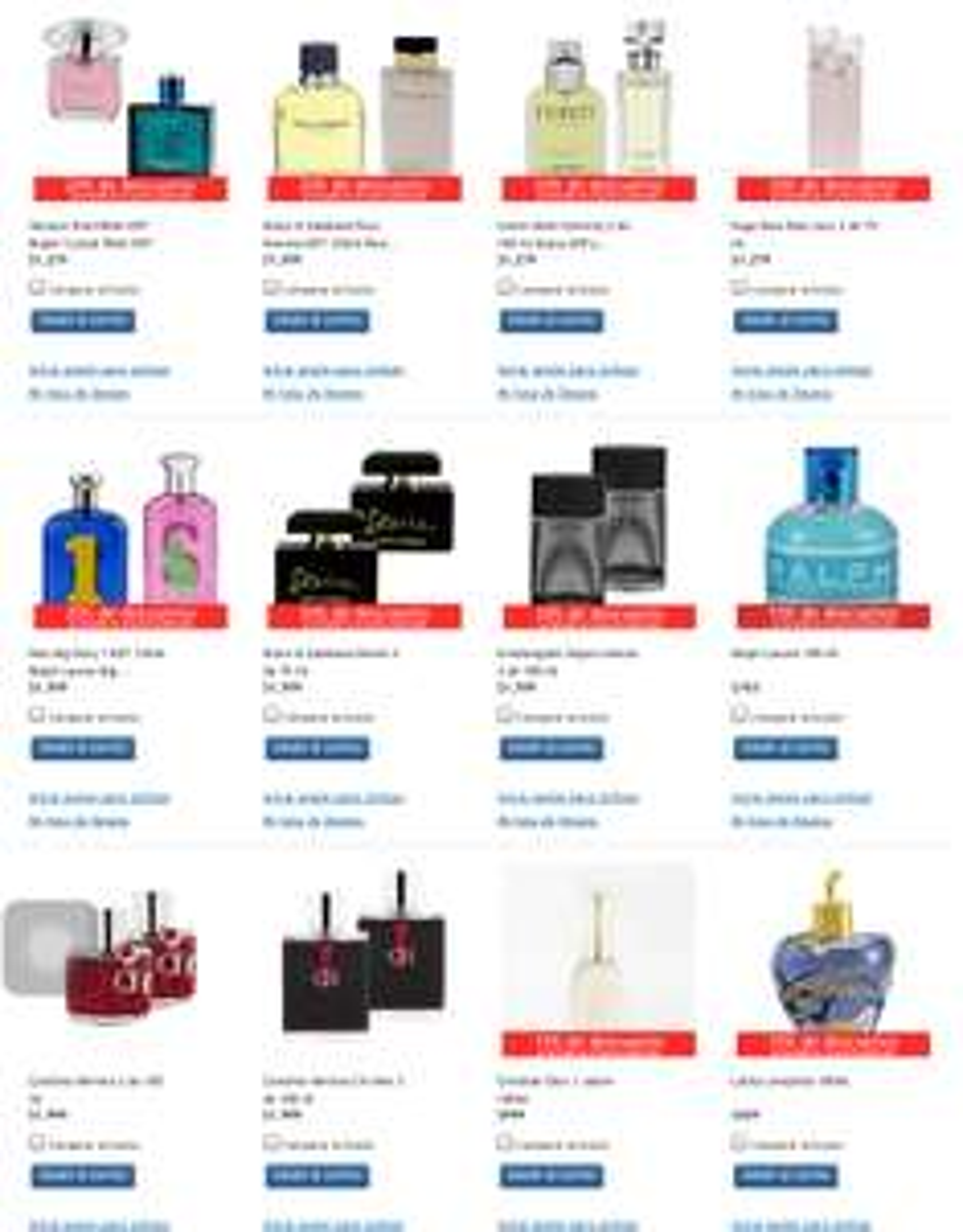 Costco: Perfumes con 15% o 20% de descuento con envío incluido