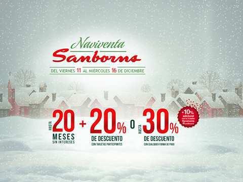 Sanborns del 11 al 16 de Diciembre 2015 Gran Venta Navideña