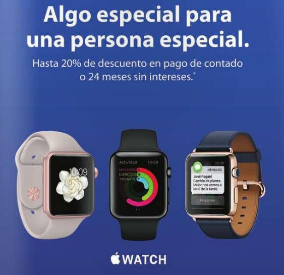iShop Mixup: 20% de descuento en Apple Watch seleccionados