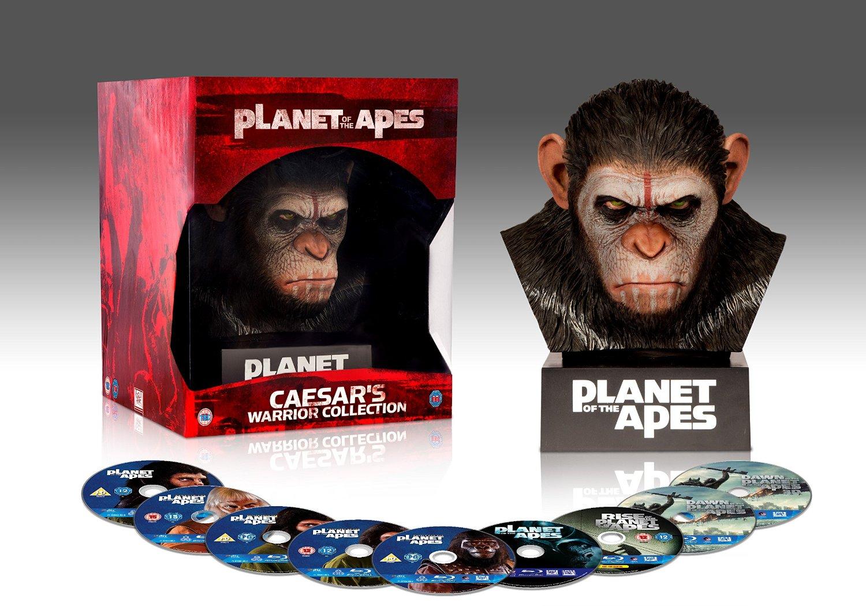 Amazon Mx: El Planeta de los Simios: Caesar's Warrior Collection [Blu-ray]