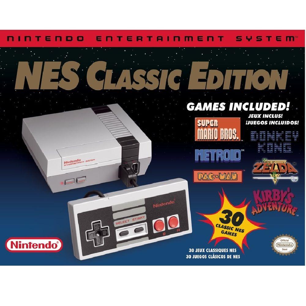 Elektra: Consola NES Nintendo Classic Edition con PayPal