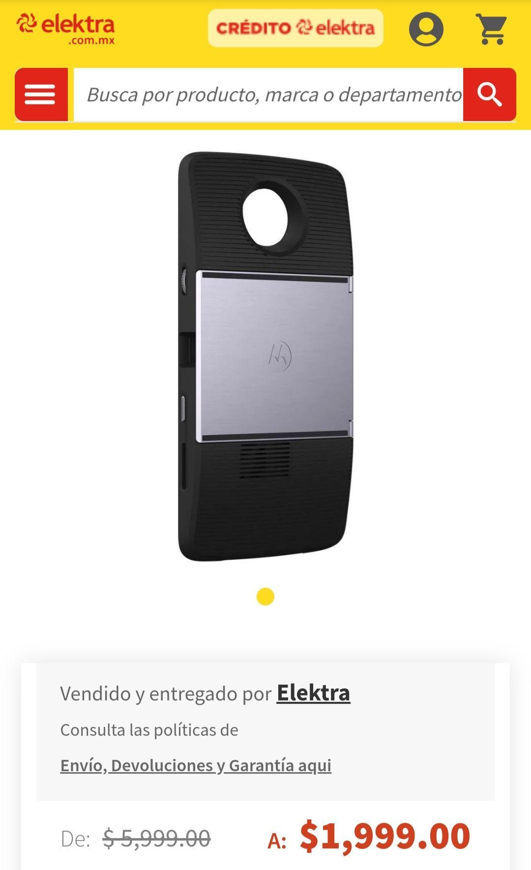 Elektra: Moto Mod Proyector
