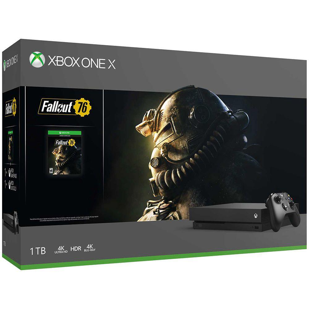 Elektra: Xbox One X con Fallout 76 (Pagando con Citipay)