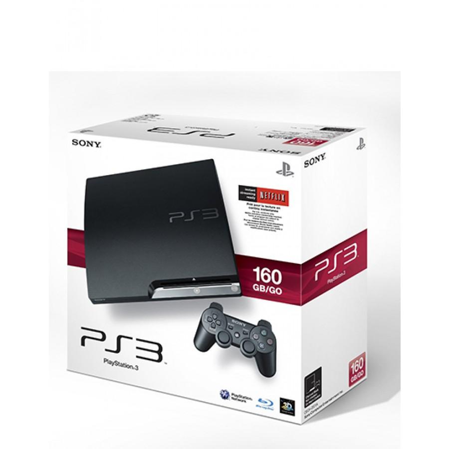 PS3 SLIM SYSTEM 160 GB GAME PLANET ¡SOLO ESTADO DE MEXICO!
