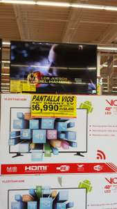 Soriana TV y Smart TV Vios 48""