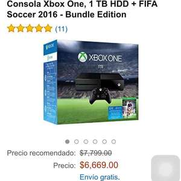 Amazon: Xbox one 1 TB + FIFA 16