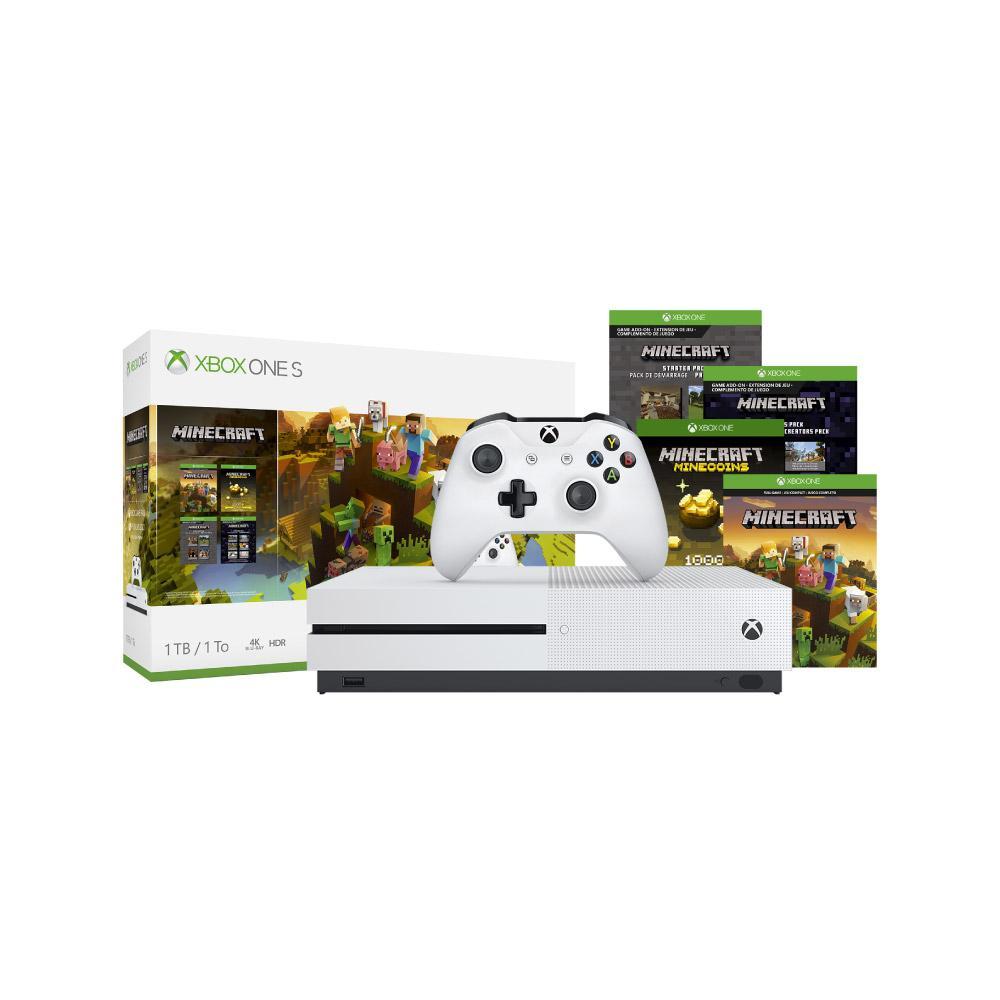 doto Xbox one S 1 Tb bundle Minecraft  con citibanamex pay