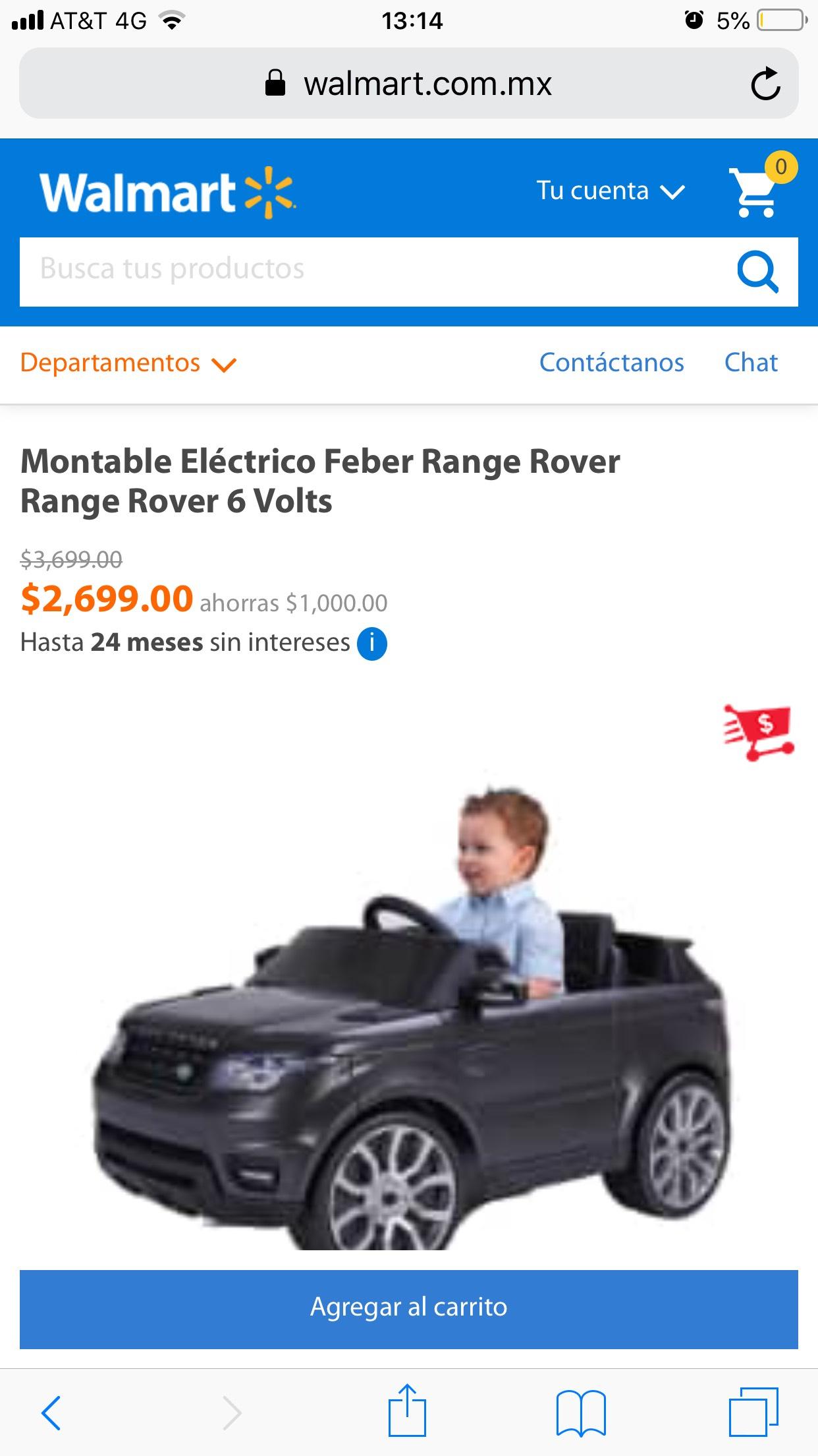 Walmart Montable electrico