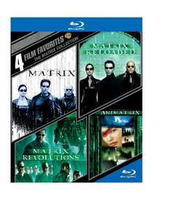 Amazon: The Matrix Collection Blu Ray