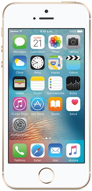 AT&T: iPhone SE de 16 GB