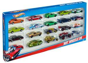 amazon: Hot Wheels Surtido 20 carritos