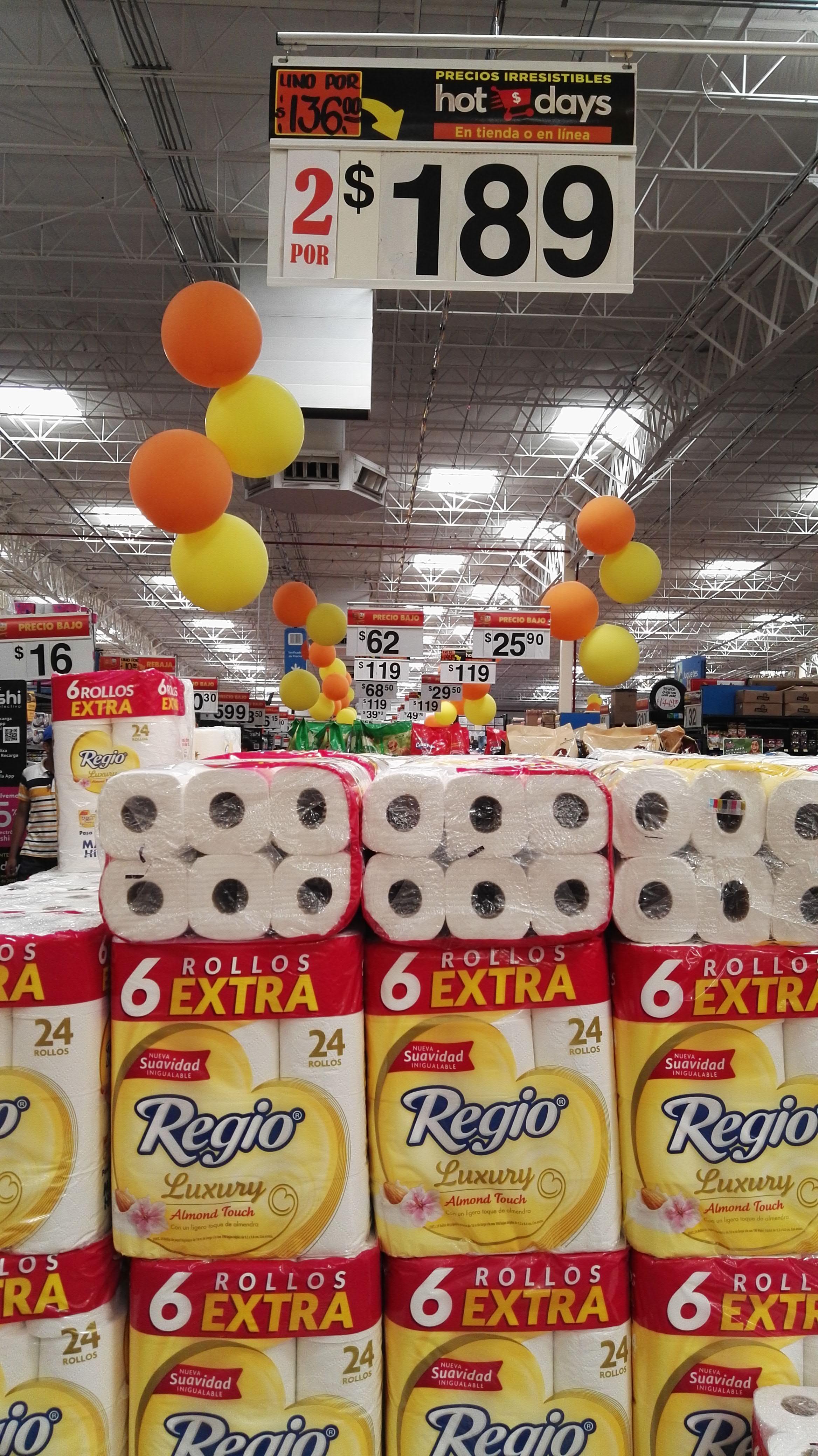 Walmart: 2 paquetes Regio luxury por $189