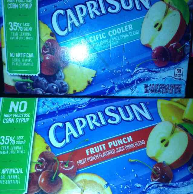 Walmart Jugos CapriSun caja de 10 $10.01
