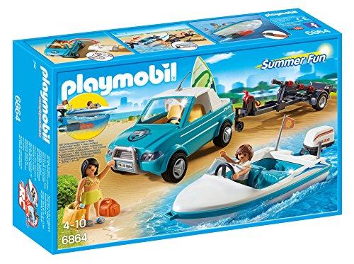 Amazon: Playmobil Pick Up con Lancha