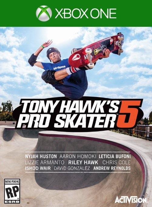 AMAZON: Tony Hawk Pro Skater 5 para XBox One