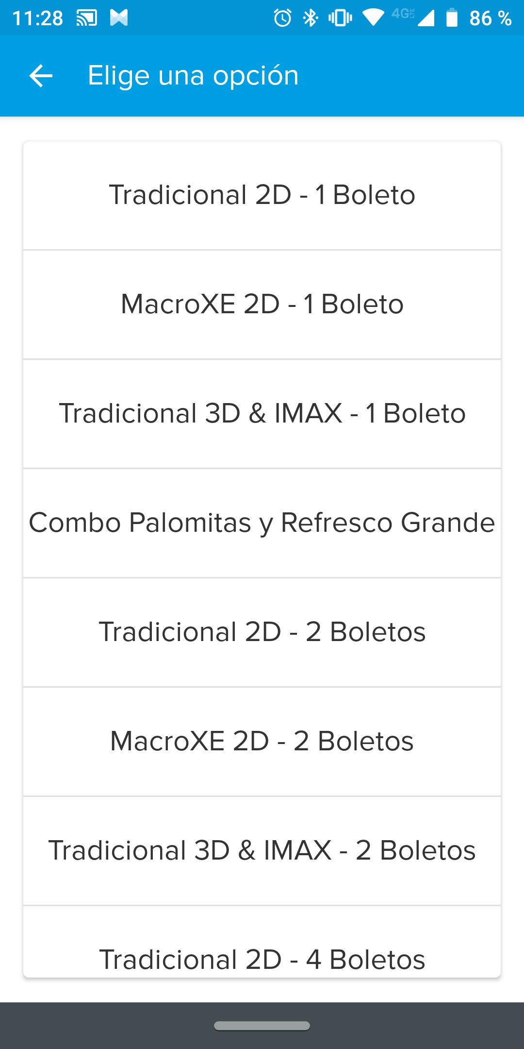 MercadoPago: Descuento de $42 en boletos de Cinépolis