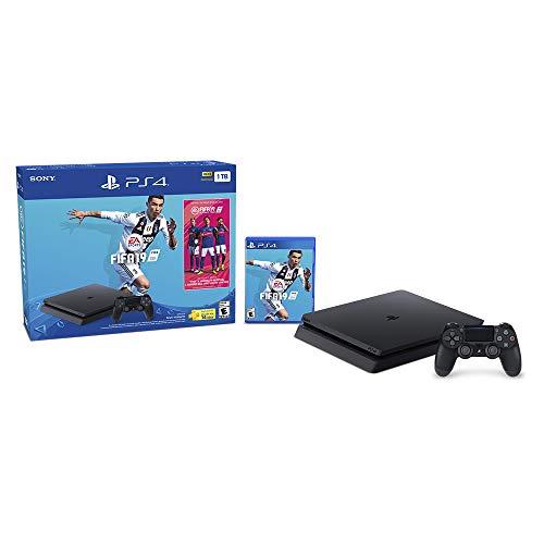 Amazon: Consola PlayStation 4 Bundle 3 hits y Fifa 19