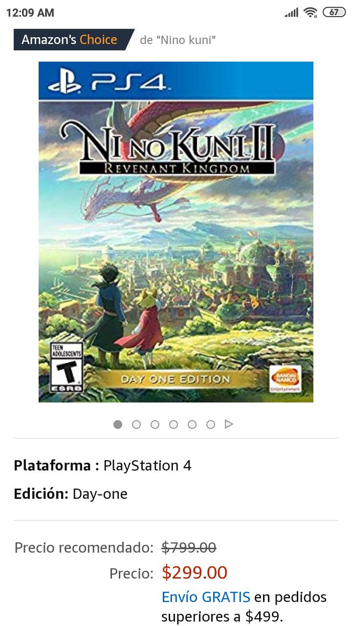 Amazon: Ni No Kuni II para PS4