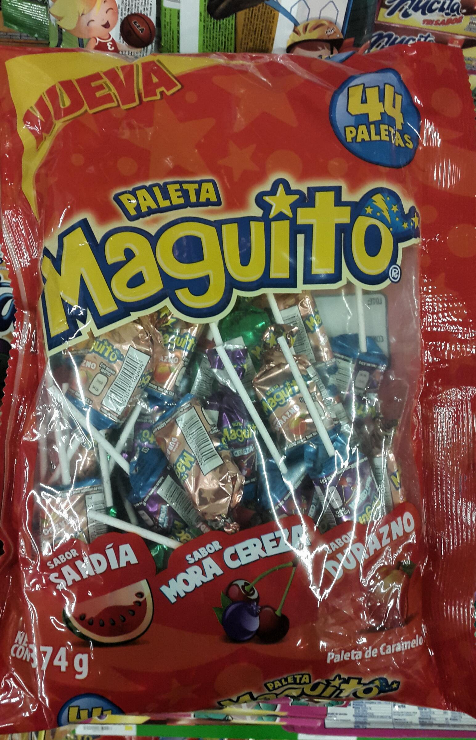Bolsa de paletas manguito en Bodega Aurrerá Guayabal