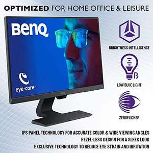 Amazon: BenQ Monitor LED 23.8 pulgadas 1080p Eye-Care ( GW2480 )