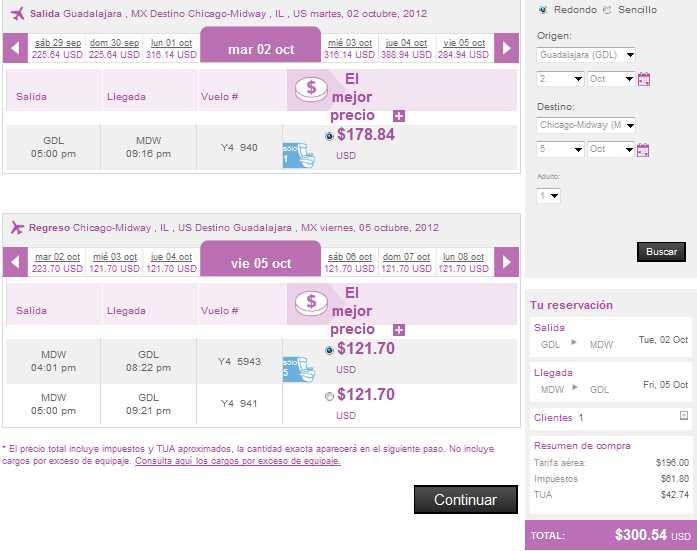 Volaris: vuelos nacionales desde $499 y a USA desde US$129 en septiembre
