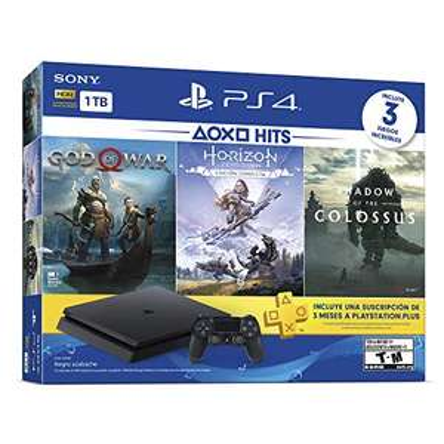 Amazon: PlayStation 4 Hits 1TB con 3 juegos: God of War, Horizon Zero Dawn, Shadow of the Colossus