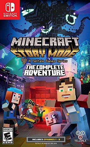 Amazon: Minecraft Story Mode para Switch