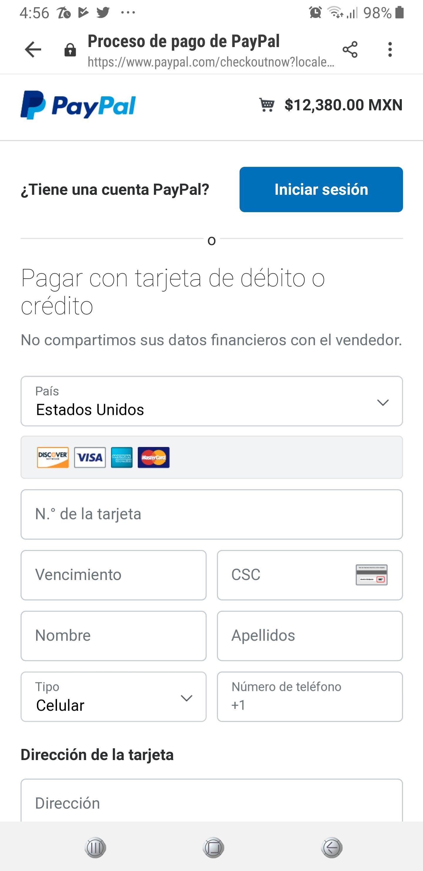 Linio Galaxy Note 9 10,380 Pagando Con Pay Pal y 3 Meses de Bonificación Con TDC Participantes