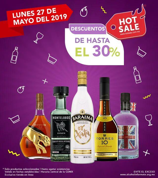 Bodegas Alianza: Hot Sale 2019: Hasta 30% de descuento Lunes 27 de Mayo