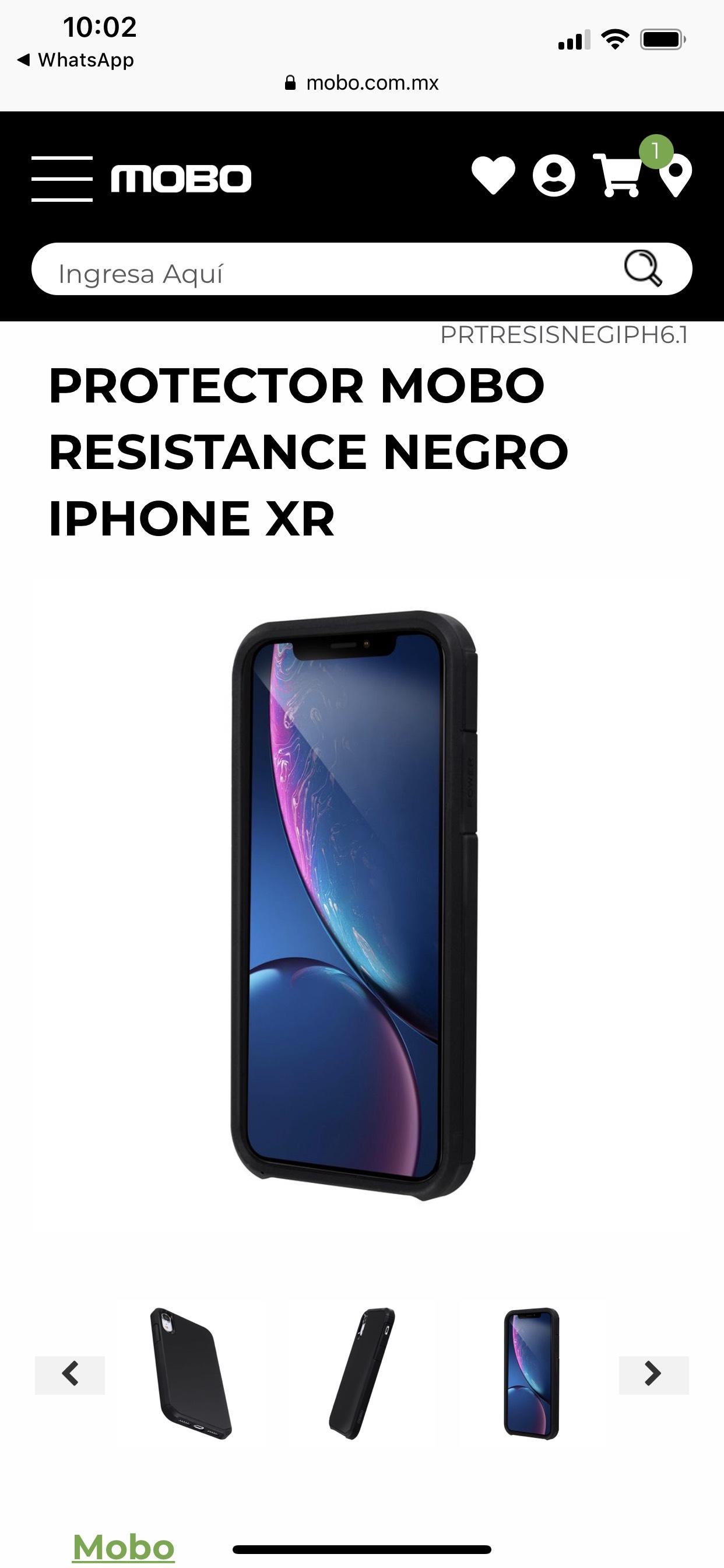 Mobo: Funda iPhone XR envío gratis