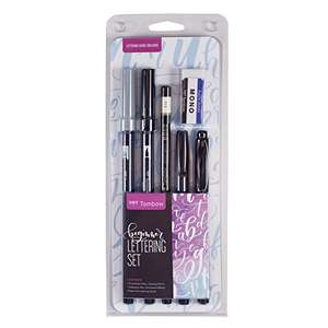 Amazon: Kit Tombow caligrafía Principiante