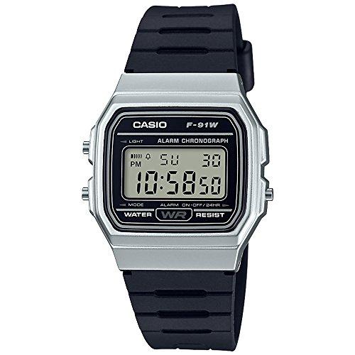 Amazon: Casio F-91WM-7ACF Reloj Casual