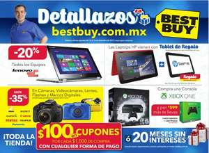 Best Buy: Folleto de Ofertas del 10 al 16 de Diciembre de 2015