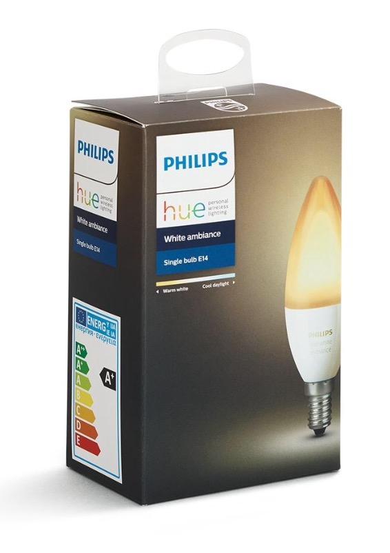 Walmart en línea: Foco Vela inteligente Philips HueAmbiance para Calendarios Colgantes
