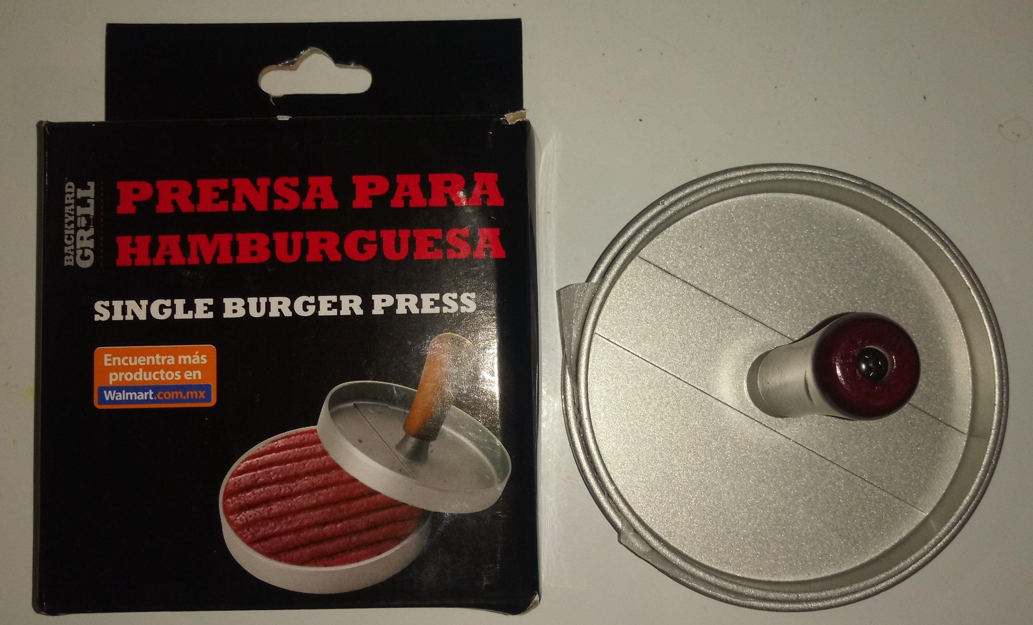 Bodega Aurrera Villa Juarez: Prensa para carnes de hamburguesa