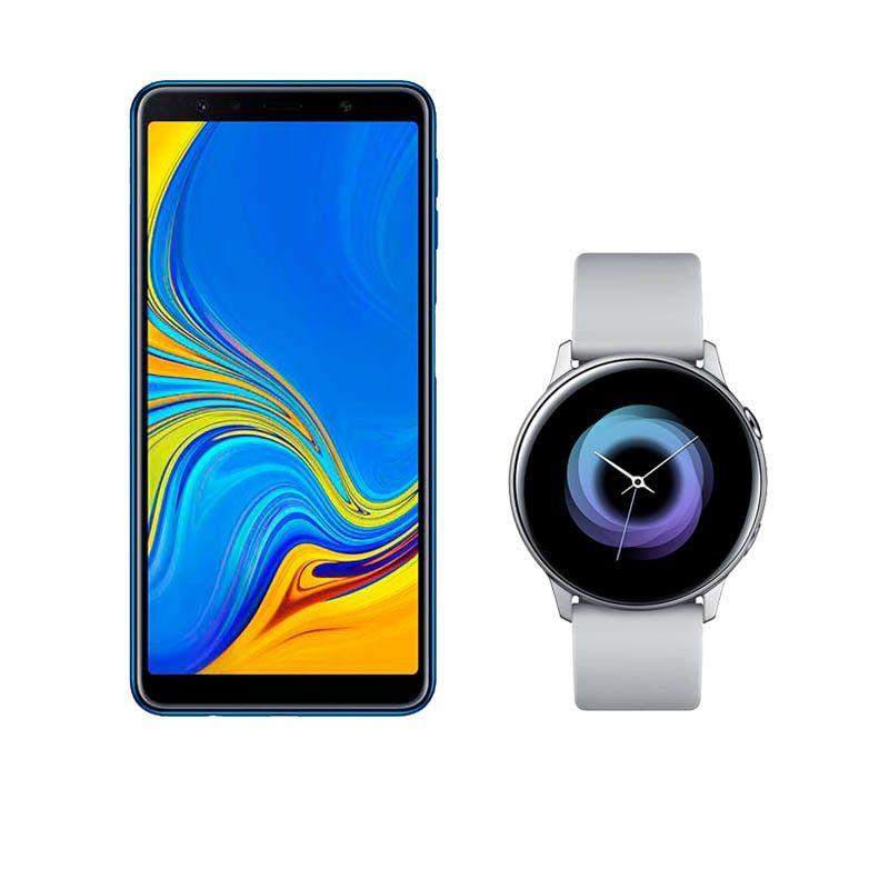 ClaroShop: Samsung Galaxy A7 + Galaxy Watch Active