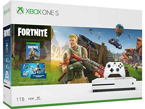 Amazon: Xbox One S 1TB con Fortnite (Pagando con Bancomer y cupón)