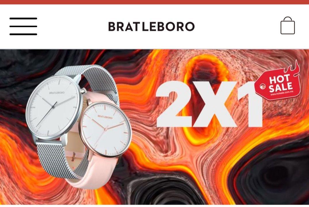 Bratleboro: 2x1 en relojes
