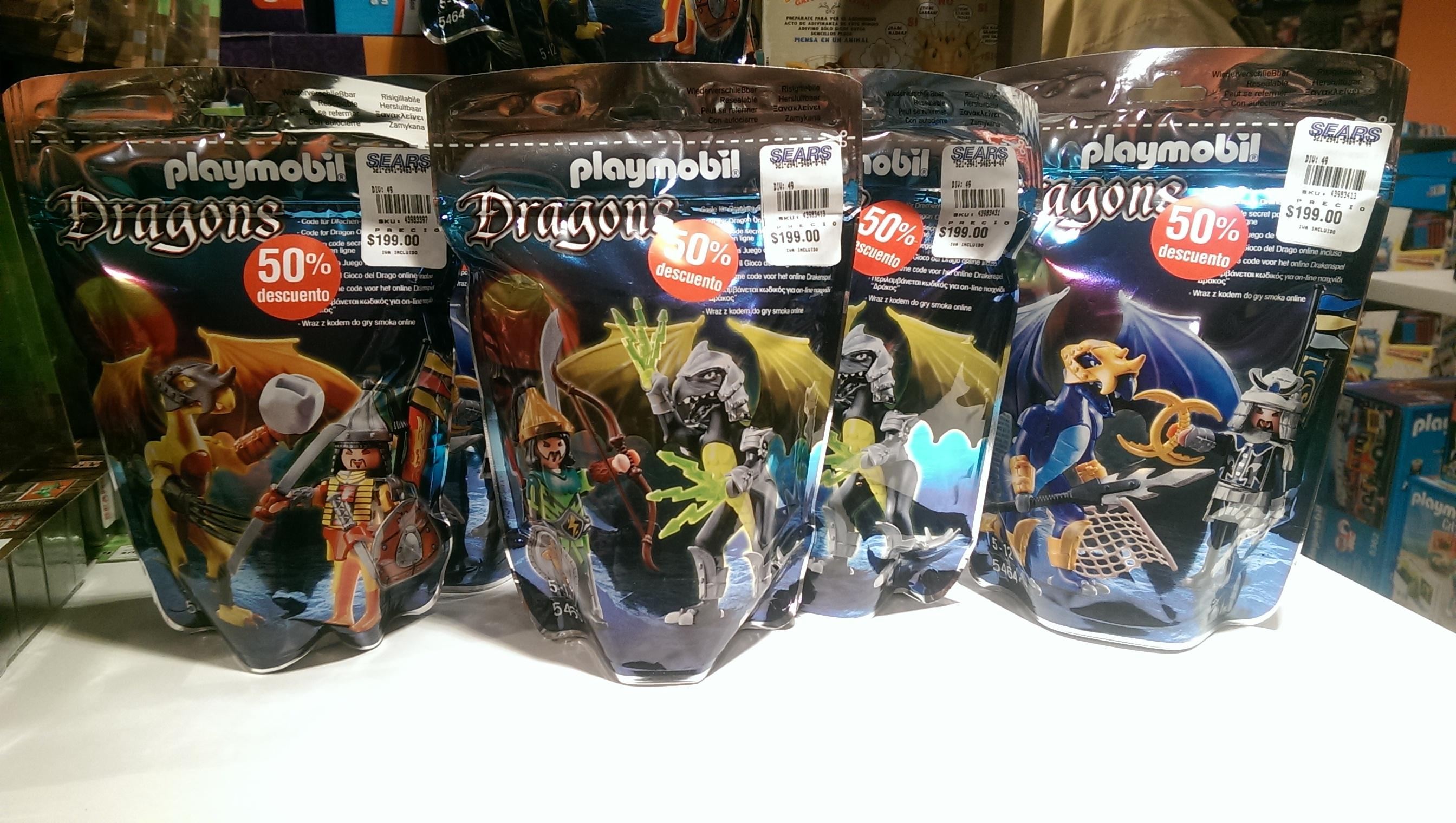 SEARS  Plaza Universidad DF: Playmobil Dragons con 50% de descuento