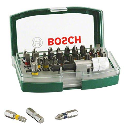 Amazon: Bosch Set PromoLIne con 32 Puntas para Atornillar