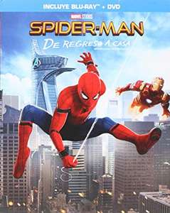 Amazon: Spider-Man: De Regreso a Casa [Blu-ray + DVD]