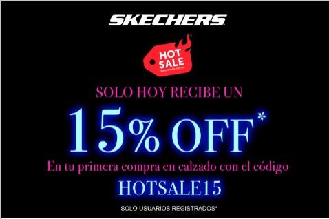 Skechers: 15% de descuento en calzado