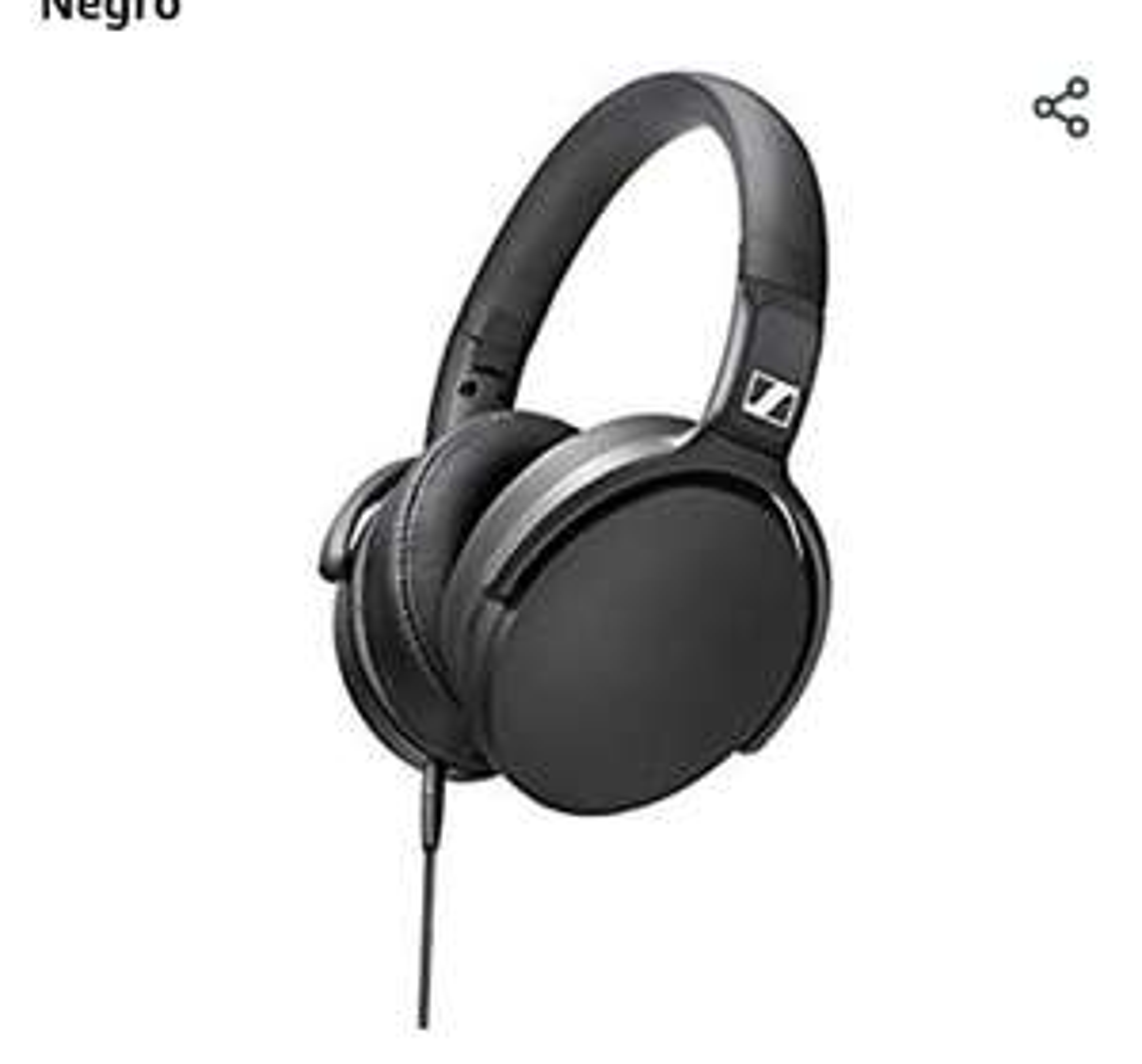 Amazon: Audífonos Sennheiser HD 400 S Over Ear (modelo 2019)