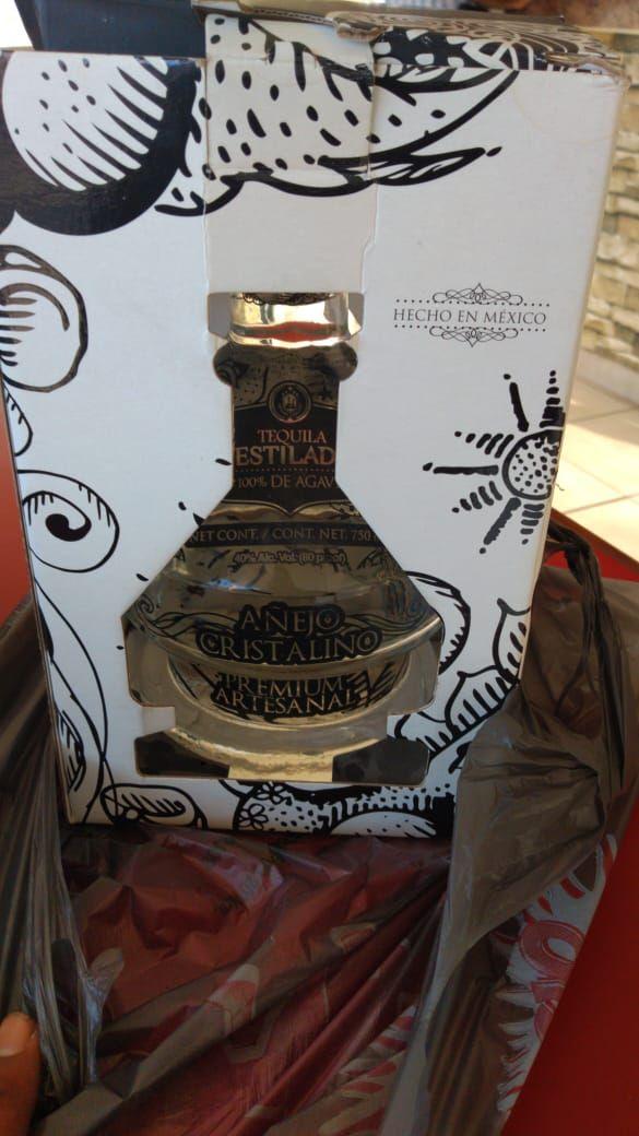 Bodega Aurrera: Tequila cristalino diamante el destilador